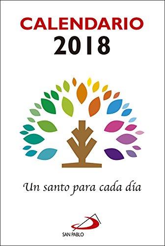 Calendario Un santo para cada día 2018 - Letra grande Calendarios ...