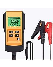 LEICESTERCN Digitale accutester voor auto, boot, motorfiets en meer (digitaal analyseapparaat)