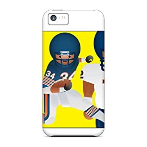 High Impact Dirt/shock Proof Case Cover For Iphone 5/5s (chicago Bears)