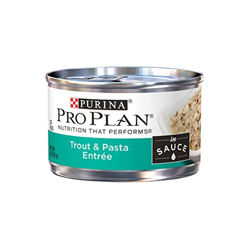 Purina Pro Plan Trout & Pasta Entree In Sauce Adult Wet Cat Food - (24) 3 Oz. Pull-Top Cans