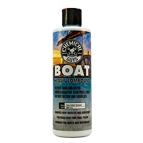 Chemical Guys MBW11116 Marine and Boat Heavy Compound (16 oz)