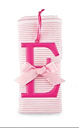 Mud Pie Cotton Receiving Blanket, E/Pink