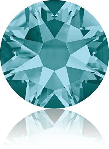 (Swarovski Professional 2088 SS20 Blue Zircon Flat Back Crystal Rhinestone)