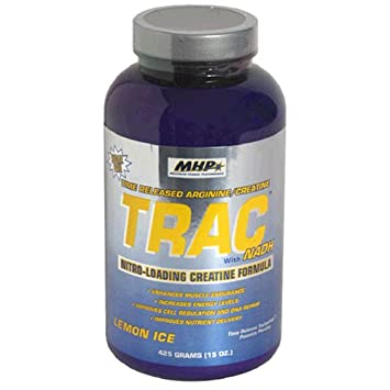 Maximum Human Performance TRAC(Time-Released Nitirc Oxide/Creatine), Lemon, 15oz