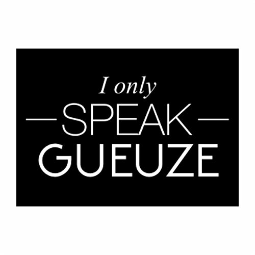 teeburon-i-only-speak-gueuze-pack-of-4-stickers