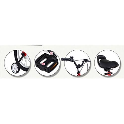 Vélo pour enfants, poussette de 14 pouces 3-6 ans Poussette pour fille Avant e53282e32bc8
