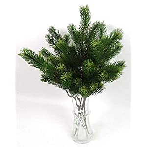 MARJON Flowers1 Piece Artificial Pine Tree Branches Christmas Trees Decorative Simulation Plant Flower Accessories 2