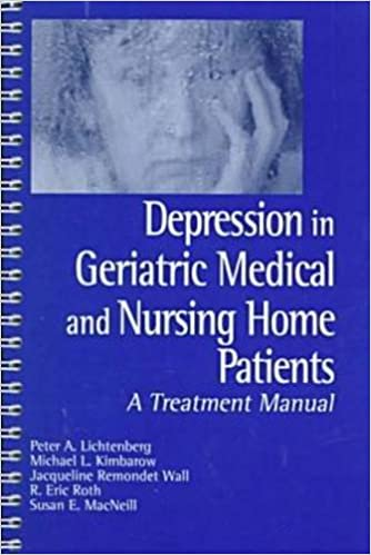 Depression in Geriatric Medical and Nursing Home Patients: A