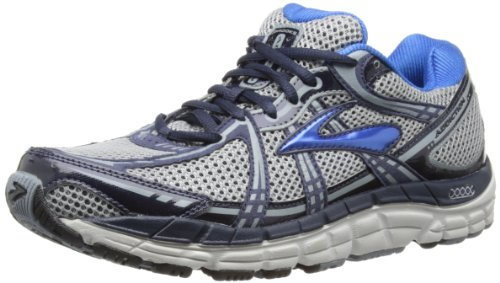 Brooks Mens Addiction¿ 11 Silver/Tradewinds/Mood Indigo/Olympic Blue/Lunar Rock/Black
