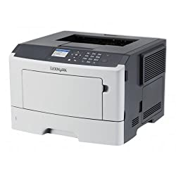 LEXMARK MS510dn - Printer - monochrome - Duplex - laser - A4/Legal - 1200 x 1200 dpi - up to 45 ppm - capacity: 350 sheets - USB 2.0, Gigabit LAN - government GSA / 35ST301 /