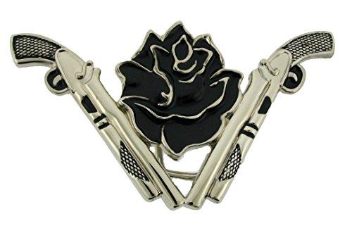 Dual Pistols Guns with Black Rose Belt - Supergirl Rose