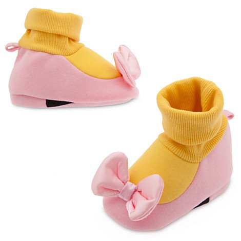 Daisy Costumes For Baby (Disney Store Daisy Duck Baby Costume Girls Dress Up Soft Shoes (6-12M))