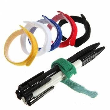 Kyz Kuv 8 cm de fil à crochet magique réutilisables sangles pour câbles-Rouge H037158 - RedG