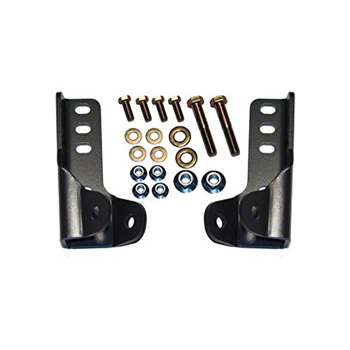 Lower Shock Mounting - Synergy Manufacturing 8074 Suspension Shock Mounting Kit Jeep JK Rear Lower Shock Mount Kit