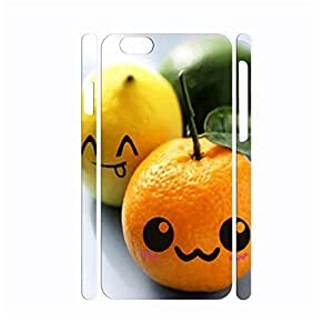 Fabulous Cute Fruit Pattern Hard Plastic Design Case for Iphone 6 Case - 4.7 Inch