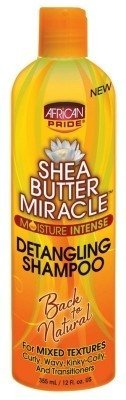 African Pride Ap - Ap Shea Butter Miracle Detangling Shampoo 12oz (2 Pack) by AFRICAN PRIDE