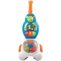 Game / Play VTech Pop and Count Vacuum Push Toy, vacuum, cleaner, kids, ebay, toys, educational, number, vtech Toy / Child / Kid