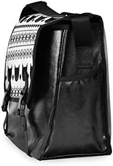 メッセンジャーバッグ メンズ ストライプ柄 黒い猫 ハート柄 斜めがけ 肩掛け カバン 大きめ キャンバス アウトドア 大容量 軽い おしゃれ