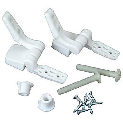 Master Plumber 479-56 White Toilet Seat Hinge Replacement Parts