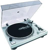 Omnitronic 10603061 - Tocadiscos para equipo de audio, plateado