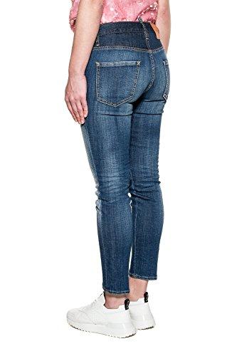 Dsquared2 Jeans Cotone Donna Blu S75la0997s30342470 q1Rfvw1xX