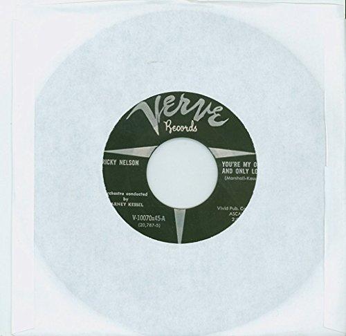 You're My One And Only Love | Honey Rock [by Barney Kessel] - Ricky Nelson (Verve Records 1957) Near-Mint - Vintage 45 RPM Vinyl - Barney Nelson