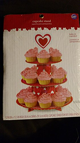 Wilton Heart Cupcake Stand - Holds 24 Cupcakes! by Wilton (Image #2)