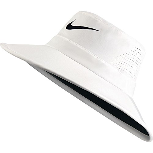 Nike Golf UV Sun Bucket Golf Hat 832687 (Large/XL, Summit White)