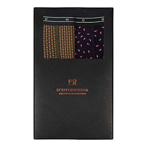 Scotch & Soda Doppelpack Boxershorts Men COLOURFUL BOXER 139850 Mehrfarbig 0220