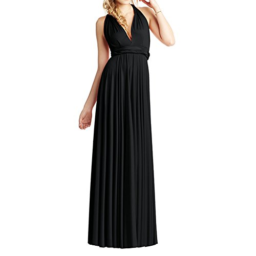 Engerla - Vestido - trapecio - para mujer negro