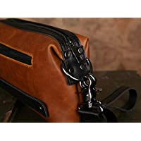 Men Multifunctional Retro Personality Horsehide Casual High capacity Clutch bag Wallet Hand bag QB71