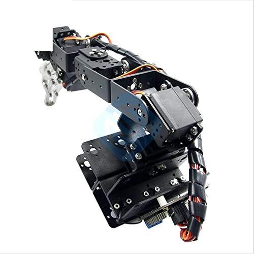 6DOF Aluminium Clamp Claw Mount kit Mechanical Robotic Arm /& Servo /& Controller