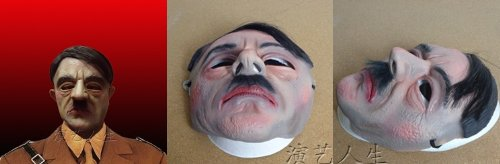 DD19 celebrity star latex Halloween mask cosplay masquerade party (Male 1)