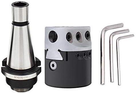 DJY-JY Adaptador M16 nt40 Arbor F1 + 12 50mm Boring Boring Head Herramienta fresadora CNC de Herramientas for la máquina de Grabado del CNC Fresado Torno Caliente