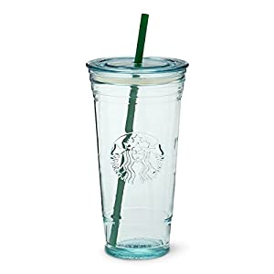 Amazon Com Starbucks Recycled Glass Cold Cup 20 Fl Oz