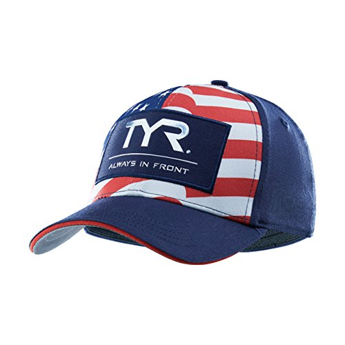 TYR A.I.F. Glory Fitted Hat Red/White/Blue Medium/Large (Deck Tyr Apparel)