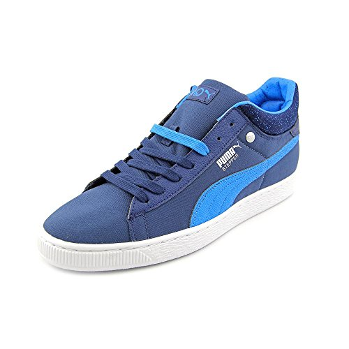 Puma Mens Stepper Classic Hyper 90s Blue Sneakers 10.5 M US (Light Blue Puma Sneakers compare prices)