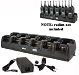 Power Products TWC12M + TWP-MT13-D 12 Unit Gang Charger for Motorola XT5000 XTS3000 XT2500 XT1500 PR1500 and more