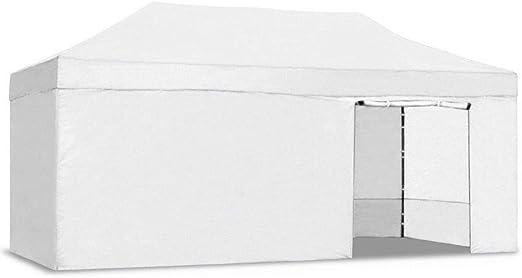 Carpa plegable 3x6 Resistente al agua. Color Blanco: Amazon.es: Jardín