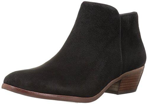 Sam Edelman Women's Petty Ankle Bootie, Black Suede, 8.5 Wide US ()