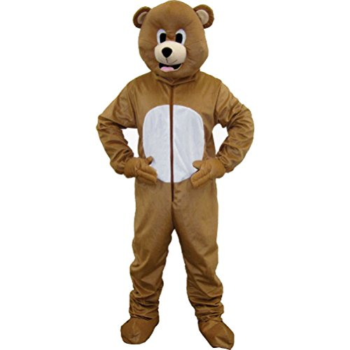 [Brown Bear Mascot Costume] (Brown Bear Mascot Costumes)