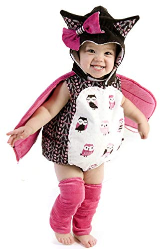 Princess Paradise Baby Emily The Owl, Pink/Brown,