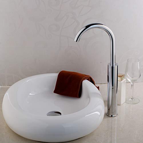 (ERGOUZI Art Handmade Porcelain Basin Bathroom Container Sink Ceramic Basin Basin FaucetSet)