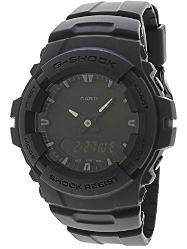 (Casio G-Shock Men039;s Black Out Series Analog Digital Watch)