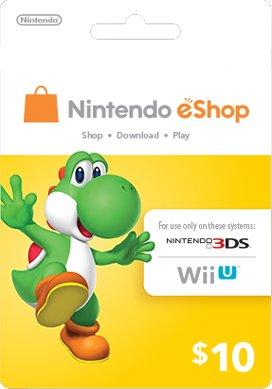 Nintendo Yoshi Prepaid eShop $10 for 3DS or Wii U