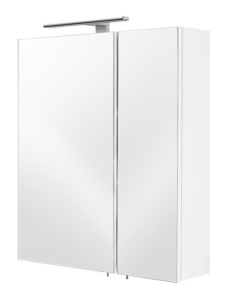 Posseik 5429-76 armoire 2 portes 60 x 68 x 16 cm (blanc)