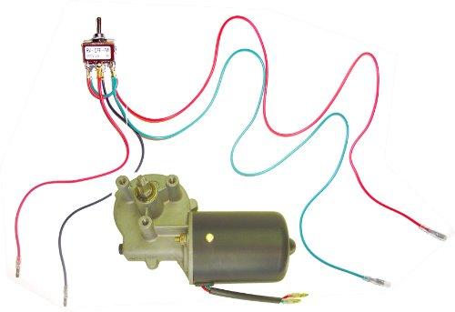 Makermotor 12V DC Reversible Electric Gear Motor 50 RPM +...