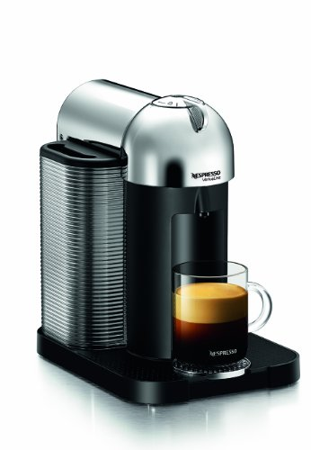 Great Deal! Nespresso GCA1-US-CH-NE VertuoLine Coffee and Espresso Maker, Chrome
