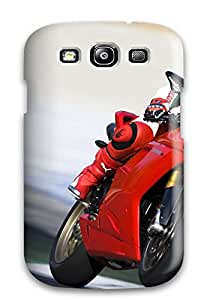 TMnVDzm3414OBnir Bruce Lewis Smith Awesome Case Cover Compatible With Galaxy S3 - Ducati 1198 Race