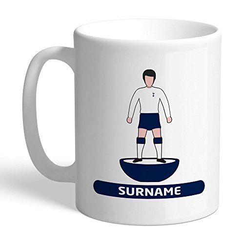 Tottenham Hotspur Official Personalized Player FC Figure Mug - FREE PERSONALISATION by Tottenham Hotspur